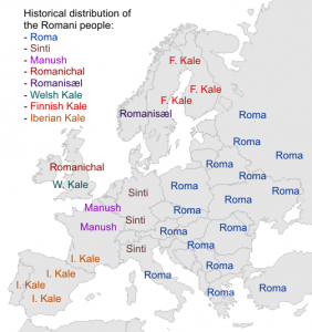 Romanis-historical-distribution