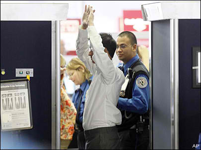 """The TSA has courted controversy with its """"naked body"""" scanners."""