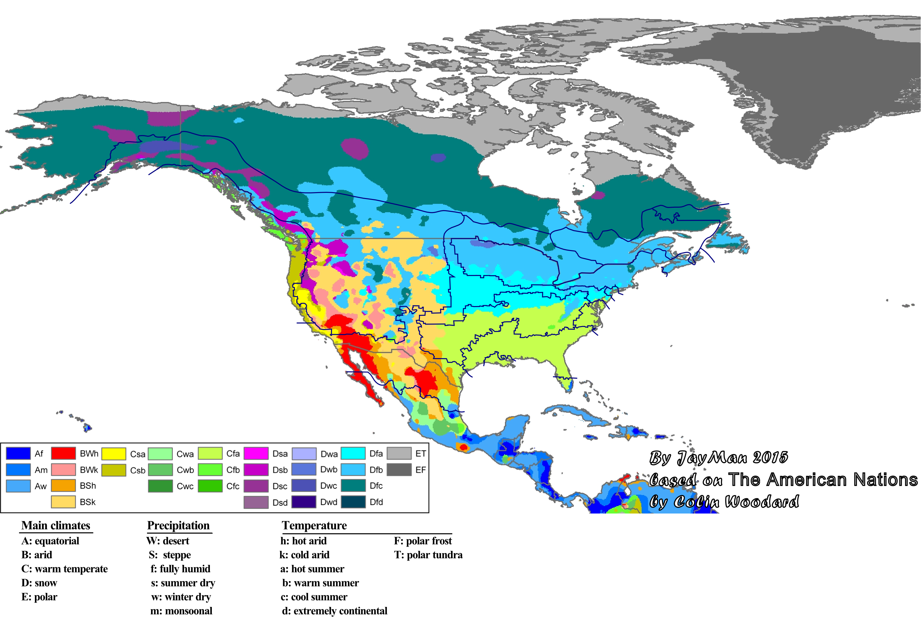 Climate North America Nations1
