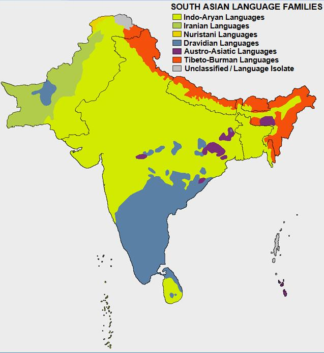 South_Asian_Language_Families