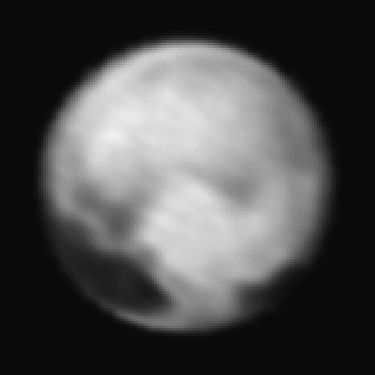 Pluto_viewed_by_New_Horizons_1_July_2015