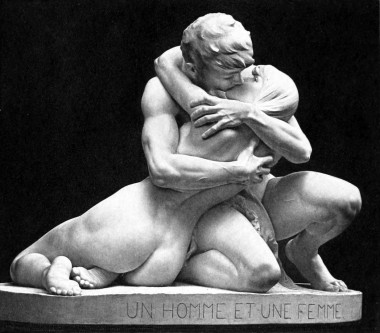 Un homme et une femme, 1891, Stephan Sinding (1846-1922). Almost as fun as sex.  Credit: Wikimedia Commons