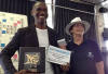 SCRABBLE World Champion (2015), Wellington Jighere, of Nigeria (on the left!).