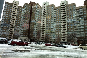 Apartment Blocks in Ukraine