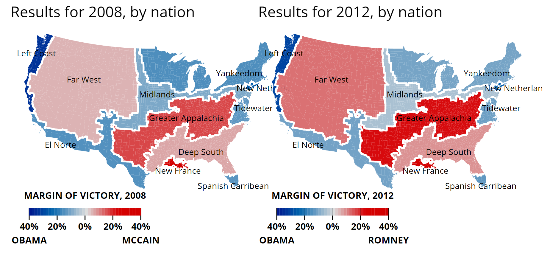 2012 2008 vote by nation