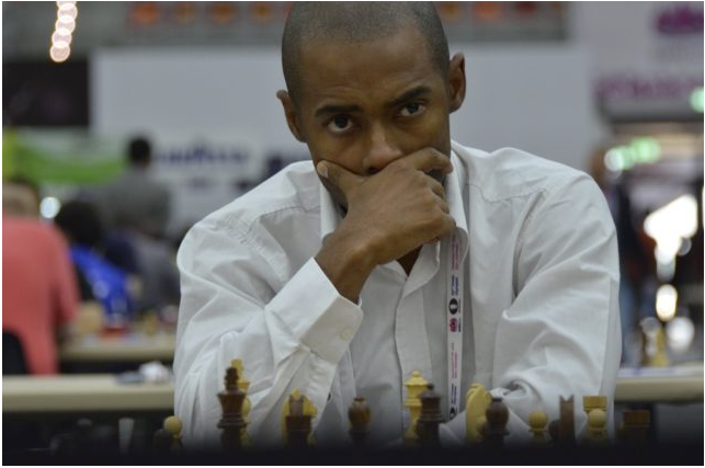 South Africa's first chess grandmaster, Kenny Solomon.
