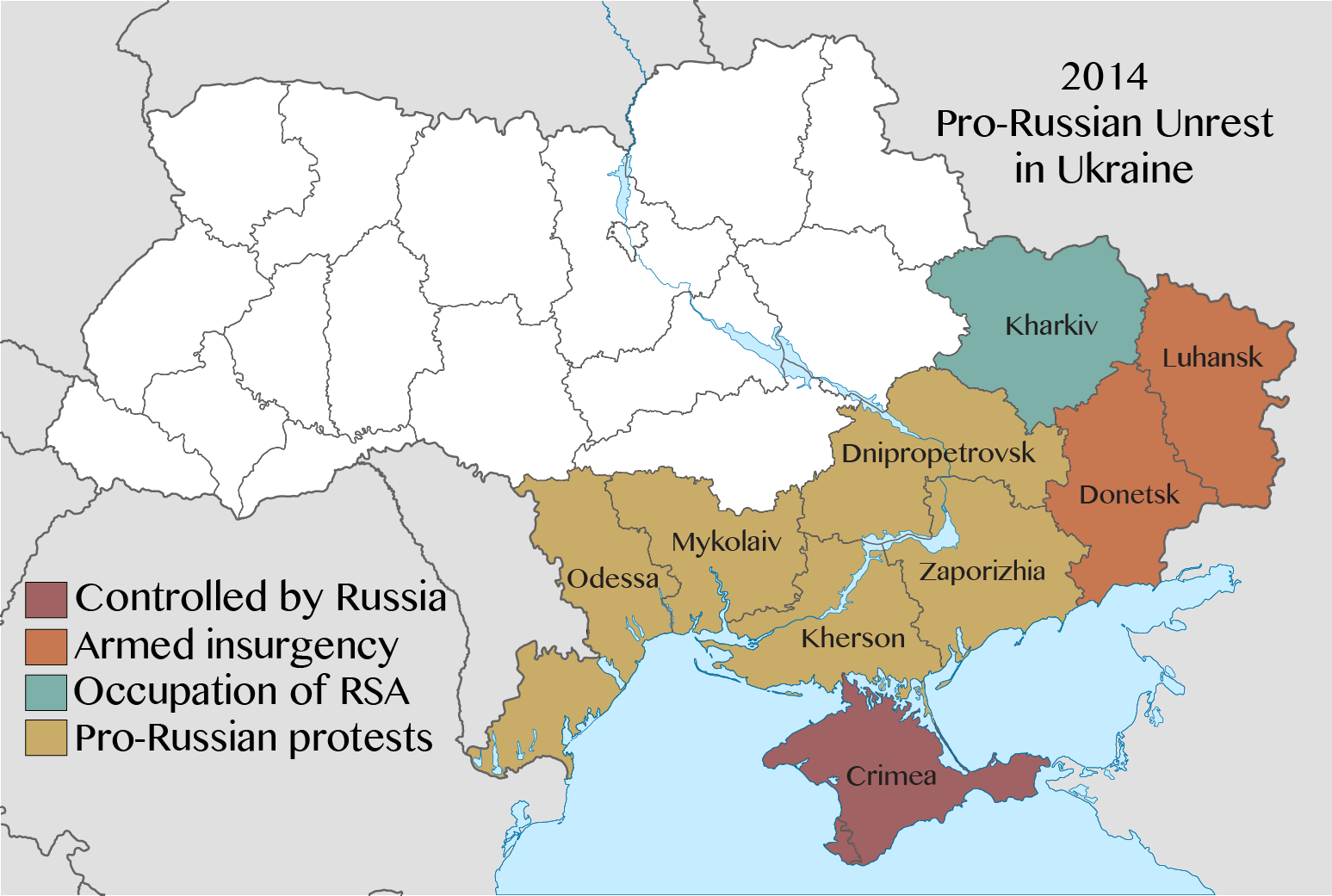July 21, 1774 began the annexation of the Crimea to Russia