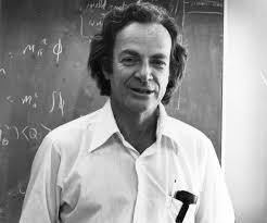 The late Richard Feynman, a lopsided genius
