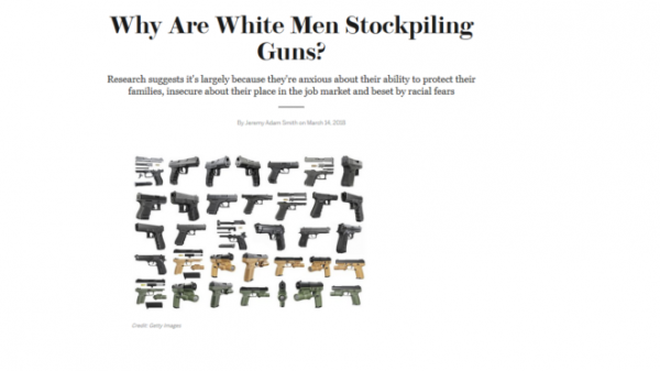 Why Bitter Whites Cling To Gunseven More Bitter Black People By