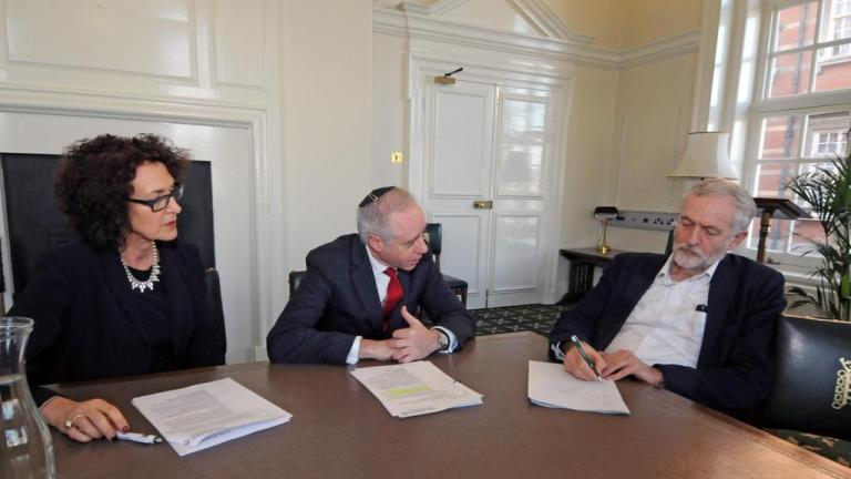 Guiding a goy: Jeremy Corbyn and the Board of Deputies
