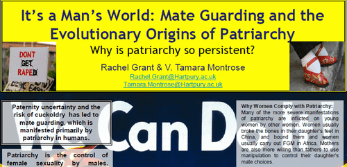 eb16e8eb9 Patriarchy: It's A Man's World—And Sociobiology Says It's Women's ...