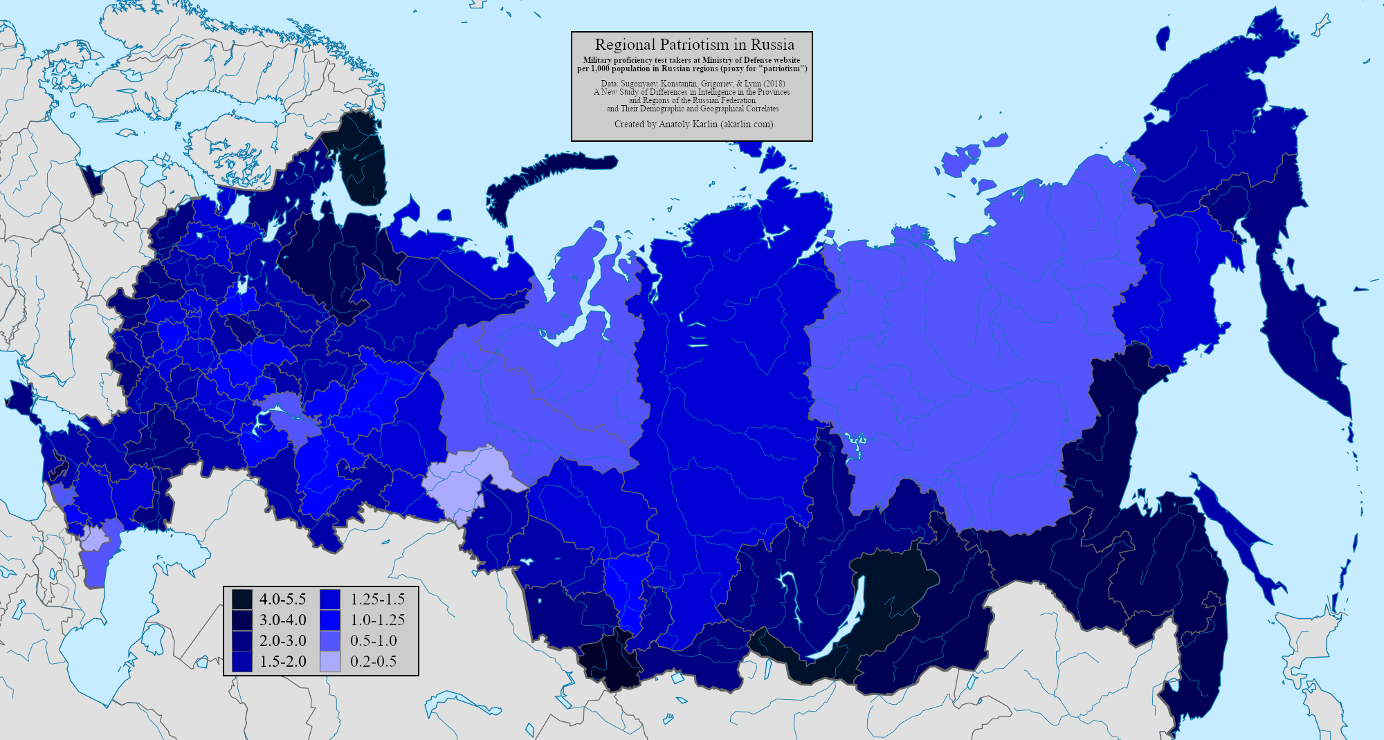 Map of Russian Patriotism, by Anatoly Karlin - The Unz Review
