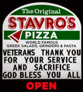 Corporate Pizza chains for wars…