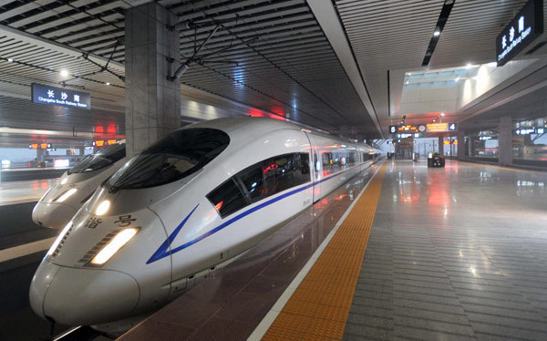 You can book  here. Fast rail is hardly unique to China, but the scale is. So  far there are 17,000 miles of fast rail in China, aiming at 24,000 by 2025. The United States couldn't finish the environmental impact statement as quickly. The Shanghai maglev line reaches 267 mph.