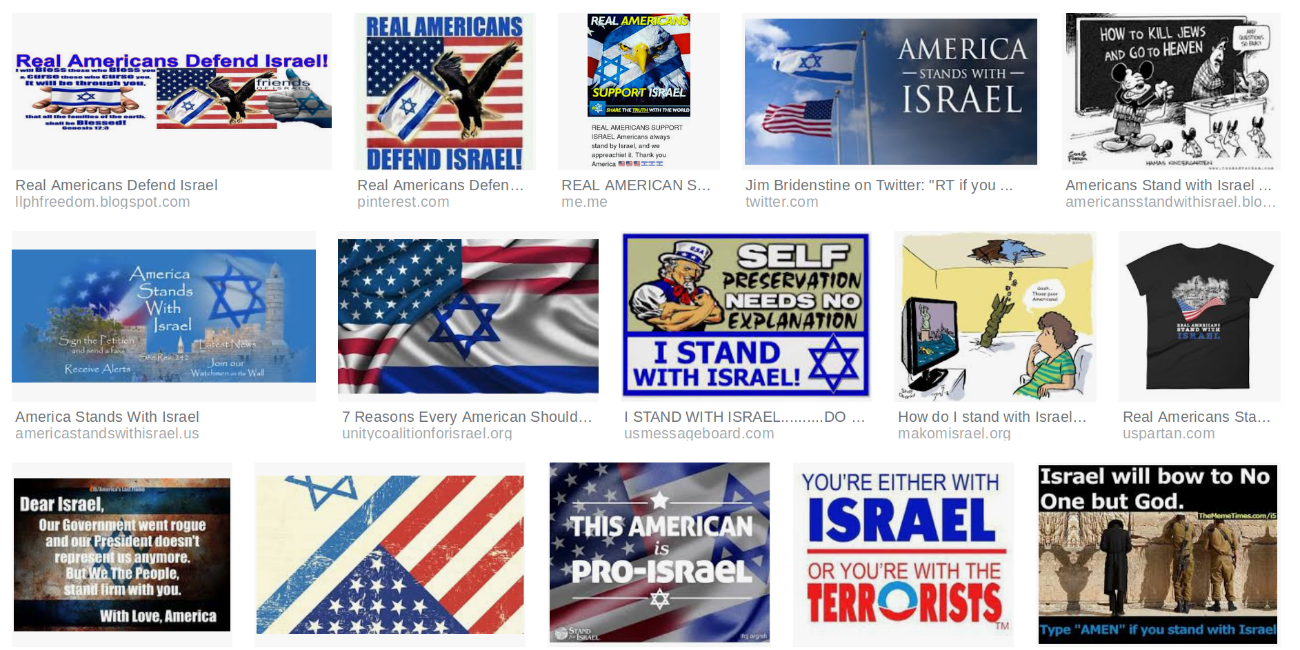 A sample of Zio-patriotic propaganda