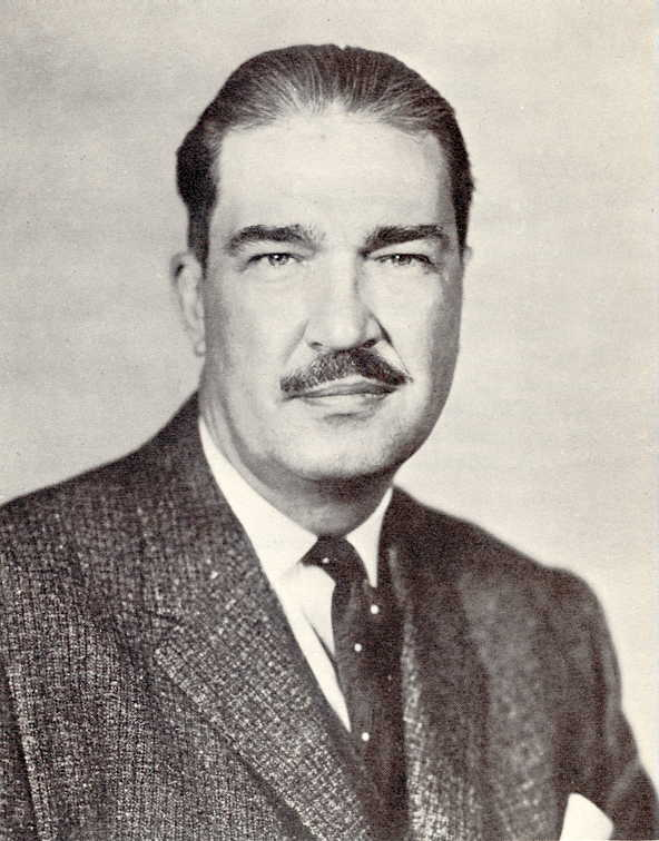 Revilo P. Oliver, 1963.  Credit: Wikimedia Commons