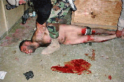An Abu Ghraib pic apparently no longer online. I found it on an ancient memory stick. Are we having fun yet?