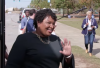 Stacey Abrams campaigning for Governor of Georgia in 2018.  Credit: Wikimedia Commons, CC BY 3.0