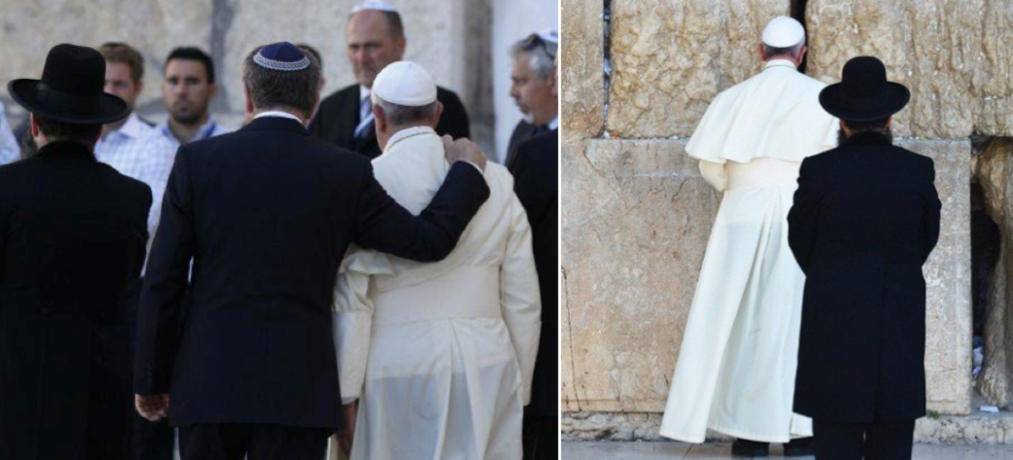 """Inside every Christian is a Jew"" (Pope Francis)"